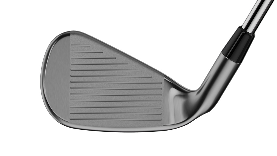 The face of the new Callaway Steelhead XR Pro irons.