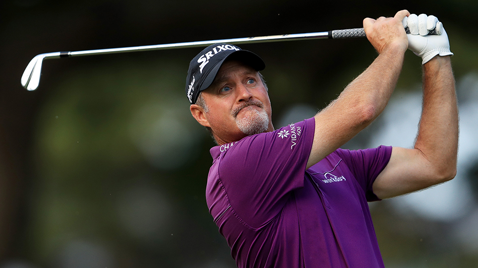 Jerry Kelly is a new face on the Champions tour this year.