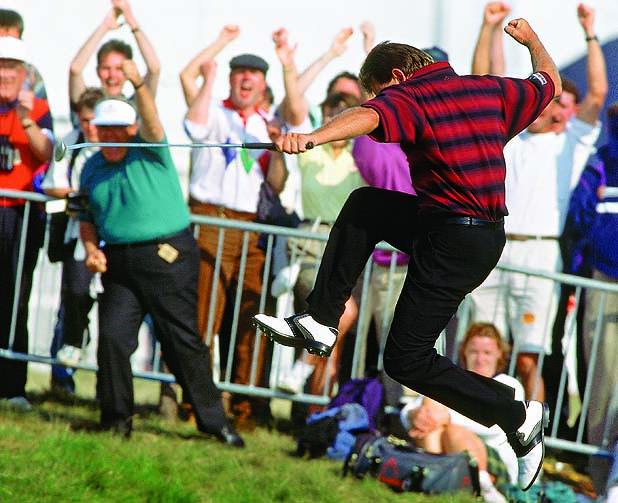 Nick Price wins 1994 British Open                 Credit: Bob Martin                 SetNumber: X46548 TK5 R11