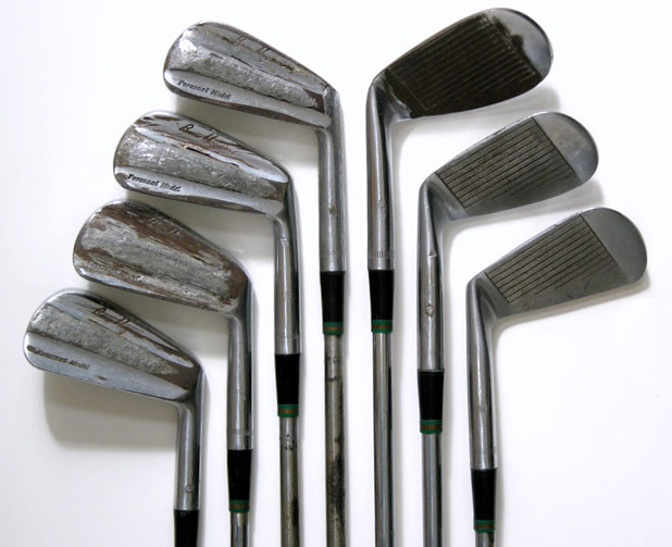These irons were used by Ben Hogan en route to three majors in 1953. (GreenJacketAuctions.com)