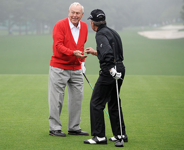 Arnold Palmer, Gary Player
