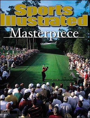 Tiger Woods won the 2001 Masters by two strokes to complete the 'Tiger Slam.'