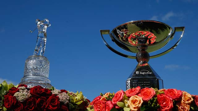 The winner of the Tour Championship could also bring home the FedEx Cup Trophy and $10 million.