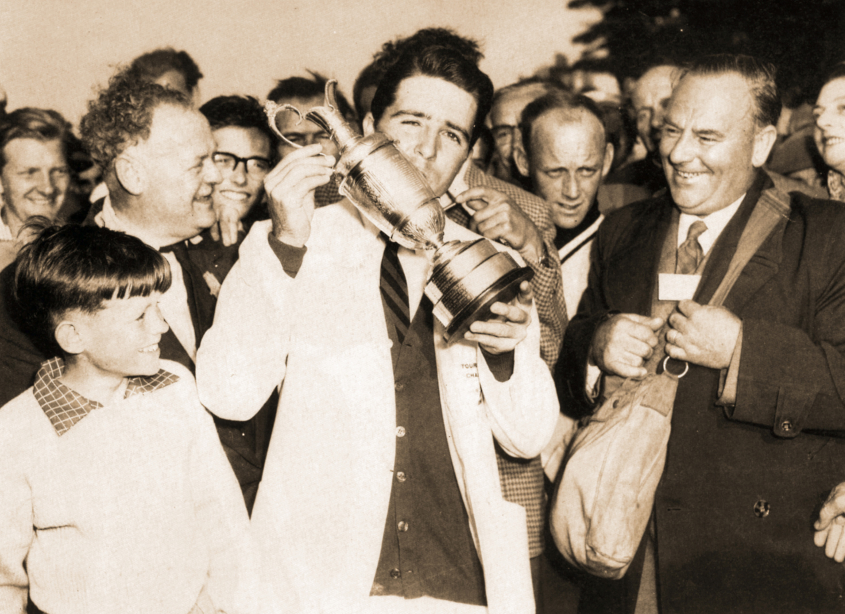 Gary Player won his first Claret Jug when the Open Championship was hosted at Muirfield in 1959.
