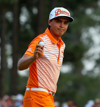 Rickie Fowler's tie for second marks his best career finish in a major.