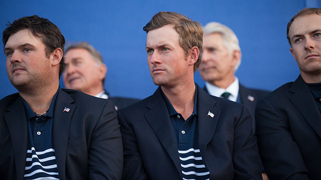 Webb Simpson was 0-1-1 in the 2014 Ryder Cup.