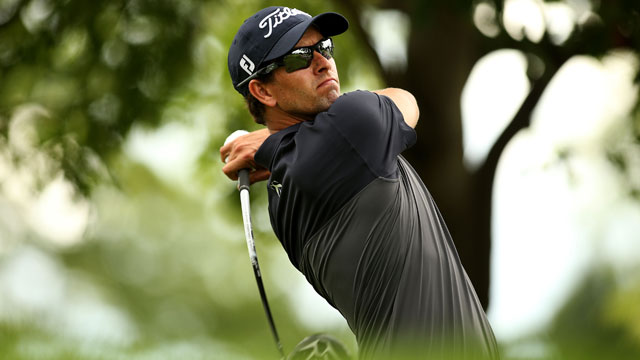 Adam Scott shot a 3-under 68 on Sunday to finish T15 at The Barclays.