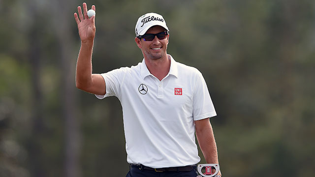Adam Scott at the 2014 Masters. Scott could claim the No. 1 ranking for the first time in his career at the Players.