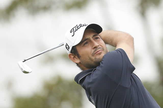 Alexander Levy shot a 9-under 63 to take a four-shot lead over Jamie Donaldson at the BMW Masters.