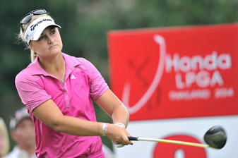 Anna Nordqvist is four ahead of Michelle Wie and Inbee Park after the third round in Thailand.