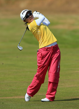 Ayako Uehara has two top 10 finishes on the LPGA Tour.