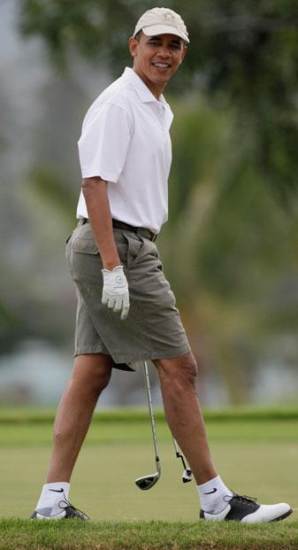 President Obama should be golf's new goodwill ambassador.