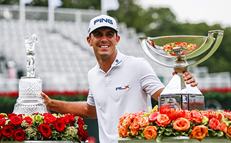 Billy Horschel won the BMW Championship and the Tour Championship, and finished T2 at the Deutsche Bank Championship, to win the FedEx Cup in 2014. He was not one of Tom Watson's Ryder Cup captain's picks.