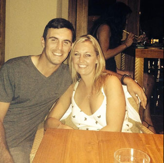 Billy Horschel and his wife Brittany celebrated the New Year in Maui.