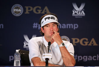 Bubba Watson spoke to the media prior to the start of the PGA Championship at Valhalla.