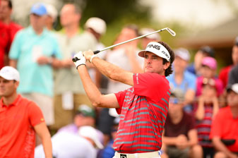 Bubba Watson finished T64 at the PGA Championship.