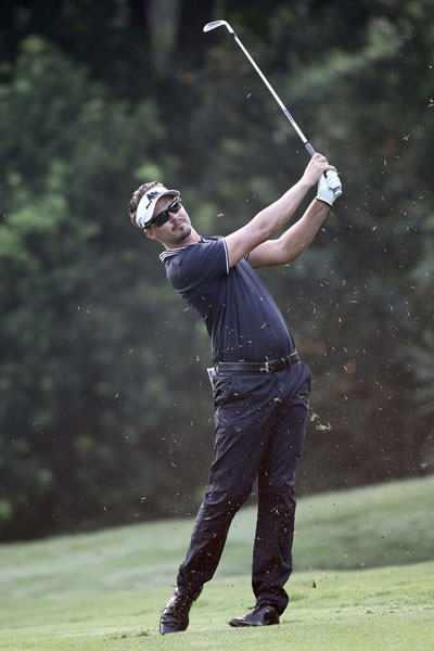 Rikard Karlberg has a two-shot lead after the first round of the CIMB Classic at the Kuala Lumpur Golf and Country Club.