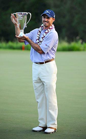 Last year Jonathan Byrd won the season-opening event at Kapalua -- but does anyone remember?