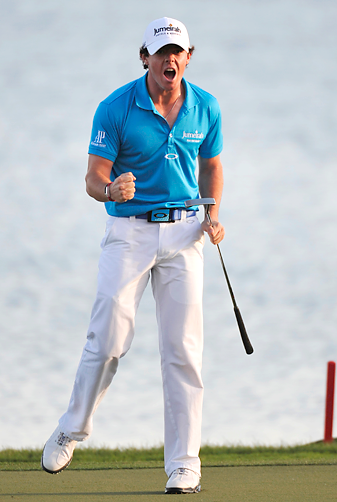 Rory McIlroy shot a 69 to win the Honda Classic by two shots.