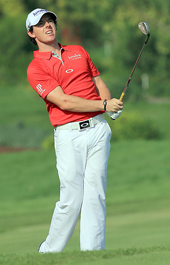 Rory McIlroy won the Dubai World Championship for his fifth title of 2012.