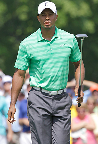 Tiger Woods missed the cut at the Greenbrier Classic and will next play at the British Open.