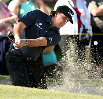 Phil Mickelson finished tied for 37th at the Humana Challenge.