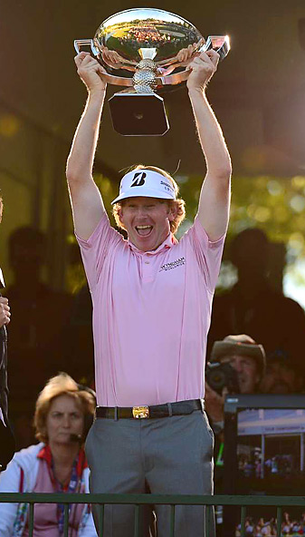 Brandt Snedeker won the Tour Championship by three shots, and with it, a $10 million FedEx Cup bonus.