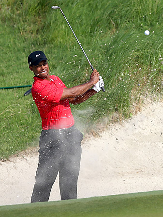 In his first action since the PGA Championship, Tiger Woods will be paired with Rory McIlroy for the first two rounds at the Barclays.