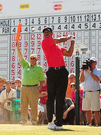 Tiger Woods enters the Masters fresh off a victory at Bay Hill, his first PGA Tour win since 2009.