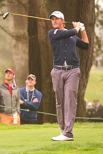 Webb Simpson shot a 68 on Sunday to win the U.S. Open by one stroke.