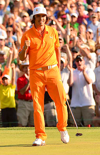 Rickie Fowler birdied the first playoff hole to earn his first career PGA Tour title.