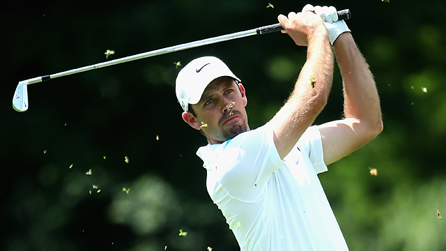 Charl Schwartzel leads the European Tour's season-opener in South Africa.
