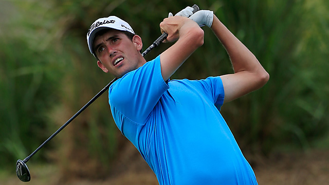 Chesson Hadley won twice on the Web.com Tour in 2013.