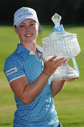 Christel Boeljon earned her second European Tour victory.