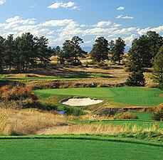 The 18th hole at Colorado Golf Club