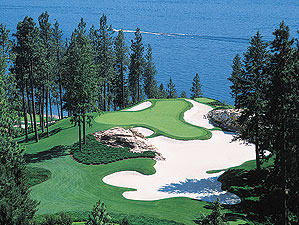 Coeur D'Alene resort in Idaho, one of the most beautiful settings in America.