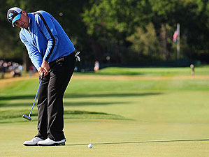 Ben Curits will need solid putting to tame Oakland Hills tough greens.