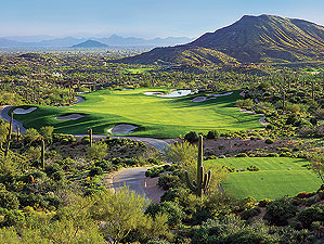 Desert Mountain offers spectacular golf in a spectacular setting.