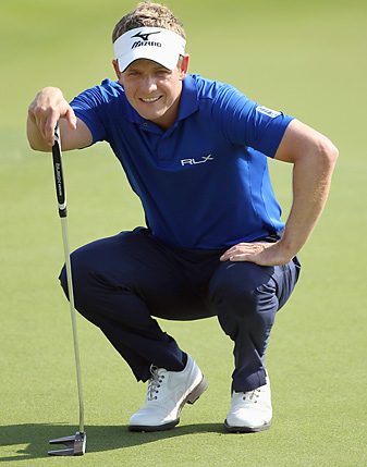 Luke Donald recently used his Twitter account to vent about the slow play problem in pro golf.