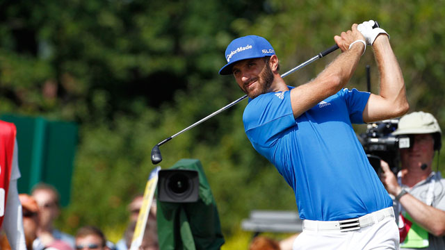 Dustin Johnson has moved up to 16th in the Official World Golf Rankings despite not having played since July.