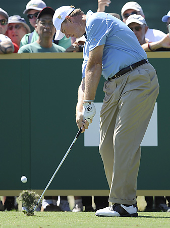 Ernie Els will compete in his seventh career Presidents Cup this week.