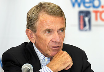 Commissioner Tim Finchem spearheaded the changes to the PGA Tour schedule and qualifying process.