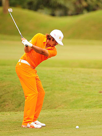 Rickie Fowler finished tied for second at Sawgrass.
