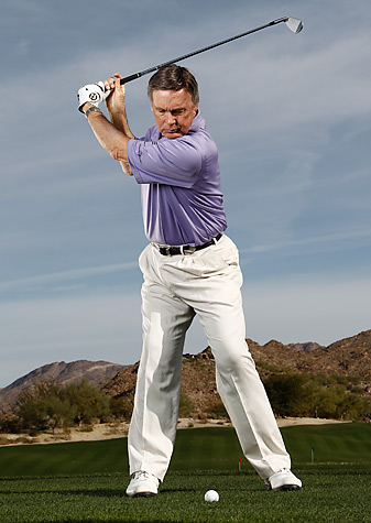 Roger Fredericks' breathing technique can improve flexibility during the swing.