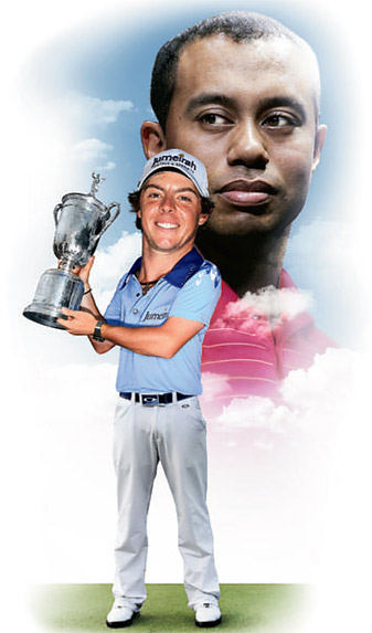 Rory McIlroy may have idolized Tiger Woods growing up, but it is unfair to compare him to Woods.