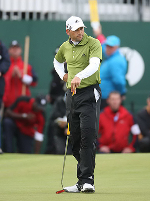 Sergio is almost waiting for putts not to go in on the weekends.