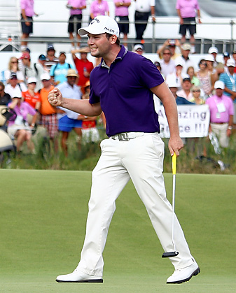 Branden Grace birdied the first hole of sudden death to win the Volvo Champions.
