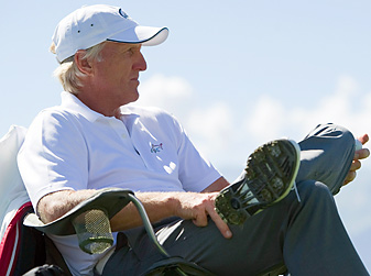 Greg Norman will captain the International Team in the Presidents Cup next week.