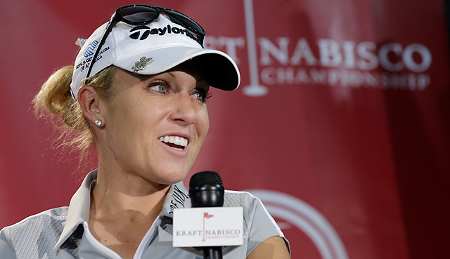 Natalie Gulbis is back after becing infected by a mosquito during the LPGA Thailand event.