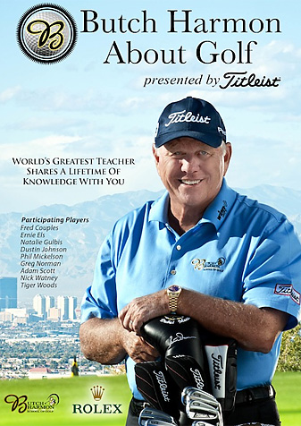 """Butch Harmon's """"About Golf."""""""